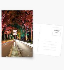 Light Speed  Postcards