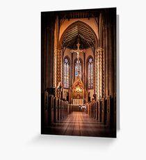 St Chads Catholic Cathedral, Birmingham  Greeting Card