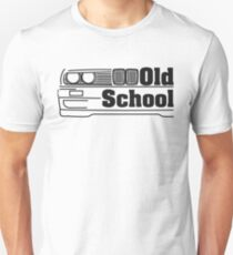 E30 Old School - Black T-Shirt
