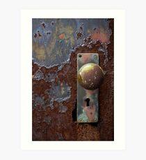 Doorknob Art Print