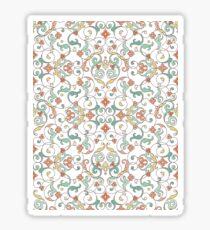 Ornamental lace tracery Sticker