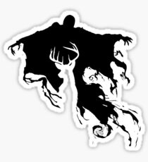 Dementor and Stag Sticker