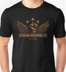 Steam Marines 2 - Logo Unisex T-Shirt