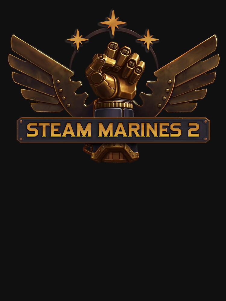 Steam Marines 2 - Logo by WorthlessBums