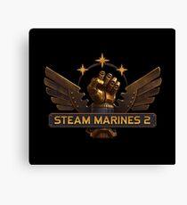 Steam Marines 2 - Logo Canvas Print