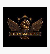 Steam Marines 2 - Logo Photographic Print