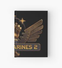 Steam Marines 2 - Logo Hardcover Journal