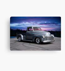 1953 Chevrolet 3100 Custom Pickup 'Sunrise' Canvas Print