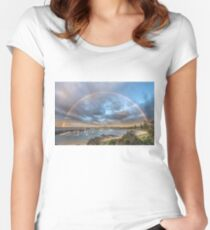 Wollongong Harbour Women's Fitted Scoop T-Shirt