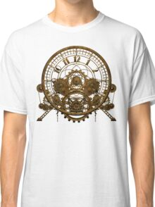 Vintage Steampunk Time Machine #1 Classic T-Shirt
