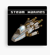 Steam Marines - I.S.S. Orion Canvas Print