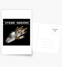 Steam Marines - I.S.S. Orion Postcards