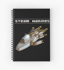 Steam Marines - I.S.S. Orion Spiral Notebook
