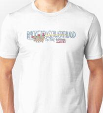 Rocket sword dog Unisex T-Shirt