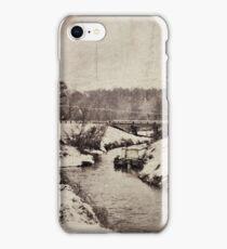 snow scene iPhone Case/Skin