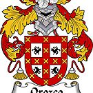 Orozco Coat of Arms/ Orozco Family Crest by William Martin