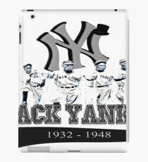 New York Black Yankees iPad Case/Skin