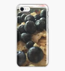 Rice Krispies with Blueberries 1.0 iPhone Case/Skin
