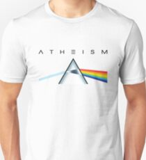 ATHEISM - A prism for seeing the light (Light backgrounds) Unisex T-Shirt