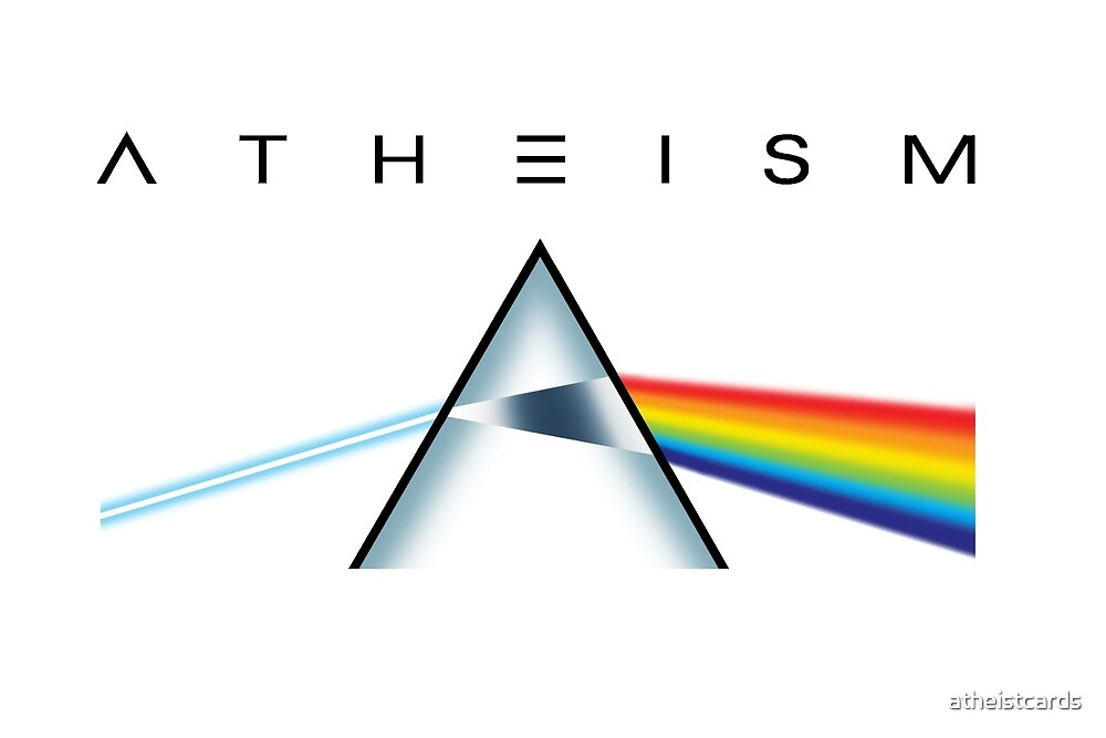 ATHEISM - A prism for seeing the light (Light backgrounds) by atheistcards