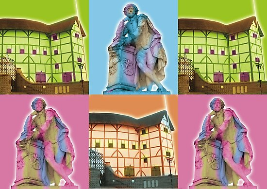 Globe Theatre  by Fabulosa Designs Tony Hardy-vanDoorn