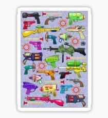 Vintage Toy Guns Sticker
