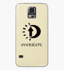 Sleep in Oblivion Case/Skin for Samsung Galaxy