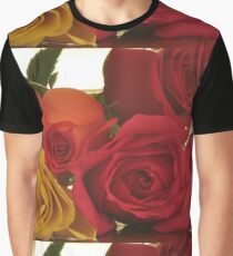 Four Colors of Roses, As Is Graphic T-Shirt