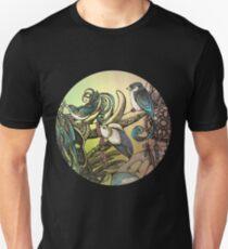 Three birds Unisex T-Shirt