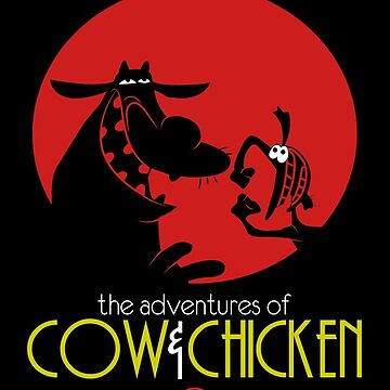 The adventures of Cow and Chicken 2 by spazzynewton