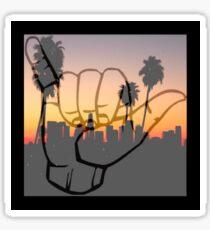 Shaka City Sundown  Sticker