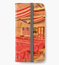 Dining Hall and Photographer iPhone Wallet/Case/Skin