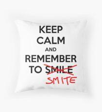Keep Calm League of legends Throw Pillow