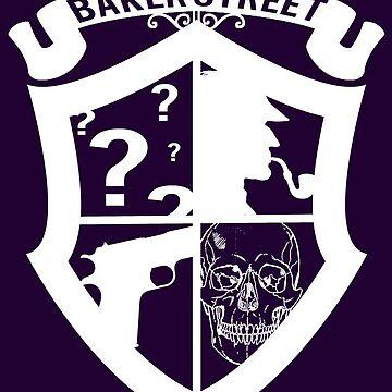 Baker Street White by massdeduction