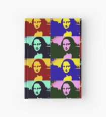Pop Art Mona Lisa Hardcover Journal
