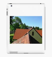Rooftop view in old greeley iPad Case/Skin