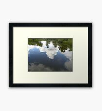 Cloud Reflection Framed Print
