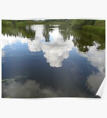 Cloud Reflection Poster
