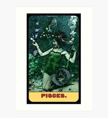 Pisces - from The Midway Arcana Art Print