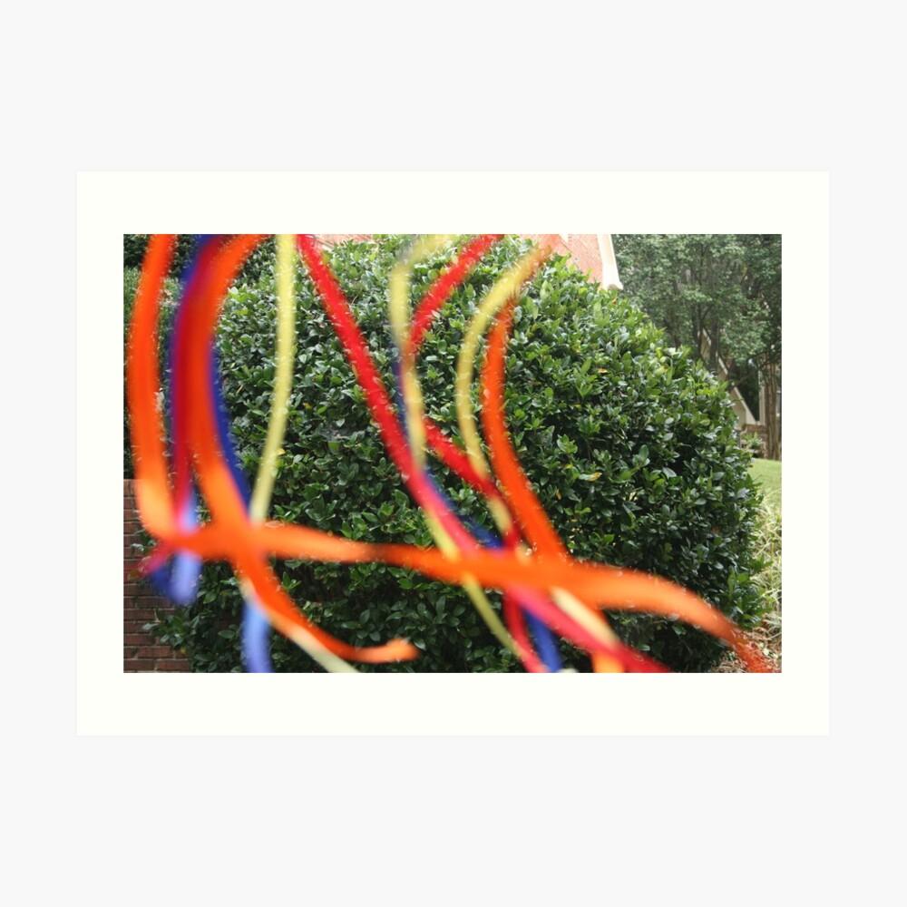 Ribbons #3 Kunstdruck