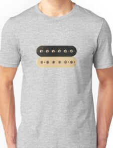 Zebra PAF Humbucker Pickup - Gibson Guitar Unisex T-Shirt