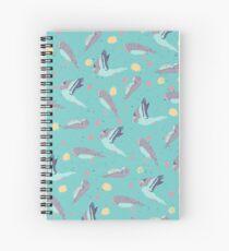 Take Flight Design Spiral Notebook