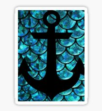 Mermaid anchor  Sticker
