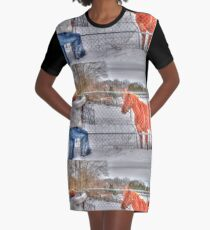 Lina and the Horse HDR Graphic T-Shirt Dress