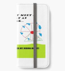Riding buddy! iPhone Wallet/Case/Skin