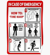 How To: Time Warp Poster