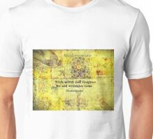Shakespeare humorous quote  Unisex T-Shirt