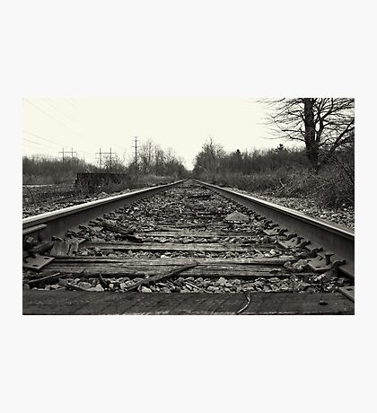 Let's Make Tracks  Photographic Print