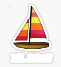 Lil Boat emoji Sticker