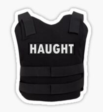 Haught Bullet Proof Vest - Wynonna Earp Sticker